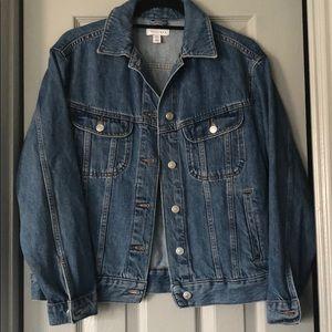 Denim jacket—oversized (: